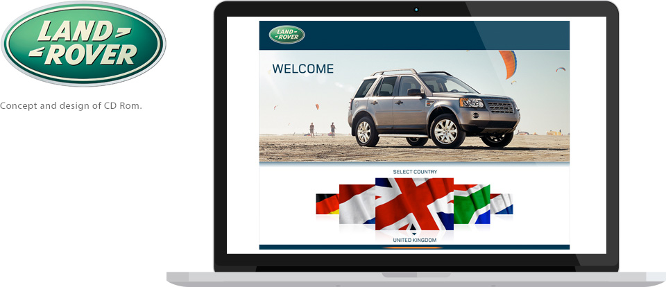 Land Rover CD rom