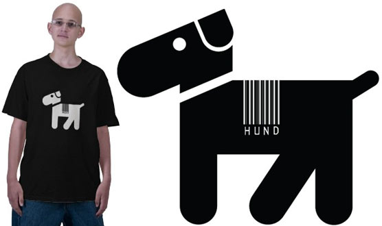 Hund with Barcode